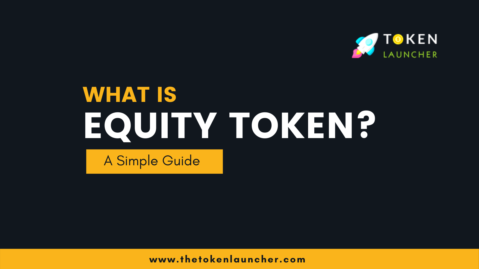 What is Equity Token? - A Simple Guide For Beginners
